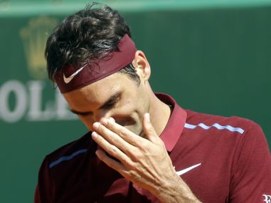 File photo of Roger Federer. AP