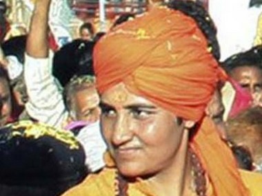 Sadhvi Pragya Singh. File photo. News18