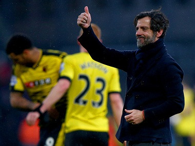 File image of Watford manager Sanches Flores. Getty Images