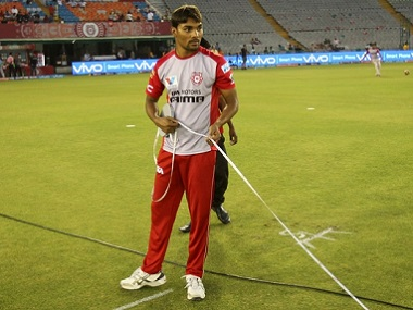 Sandeep Sharma of Kings XI Punjab. BCCI