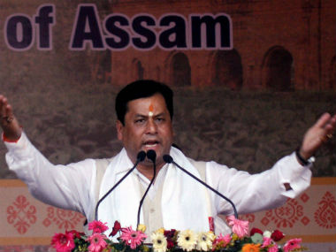 Chief Minister Sarbananda Sonowal. File photo. PTI