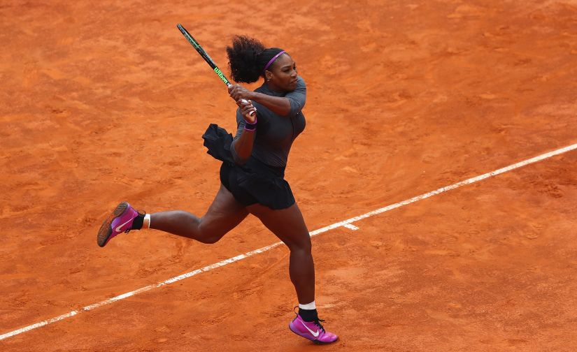 Serena Williams is once again the favourite at a Grand Slam. Getty Images