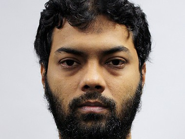 This undated photo released by the Ministry of Home Affairs shows Rahman Mizanur, one of four Bangladeshi men convicted in a Singapore Court on Tuesday, May 31, 2016, in Singapore. Mizanur and the three other men held on suspicion of planning attacks linked to the Islamic State group in their own country were convicted of financing terrorism by a court in Singapore on Tuesday. AP