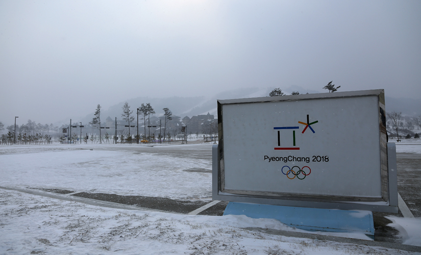 The Winter Olympics in South Korea have been hit by construction delays, conflicts over venues, a shortage of local sponsors. Getty Images