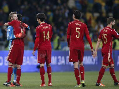 File photo of Spain's  Euro qualifier. Reuters
