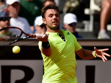 Stan Wawrinka of Switzerland is the defending champion at French Open. Getty Images