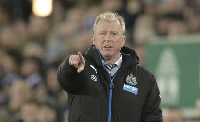 Newcastle United's Steve McClaren was sacked after just nine months in charge. AFP