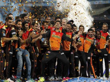 Sunrisers Hyderabad. BCCI