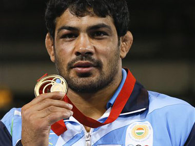 File photo of Sushil Kumar. AP