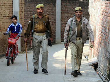 File photo of Uttar Pradesh police. AFP
