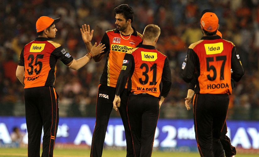 Sunrisers Hyderabad bowlers impressed throughout the season. SportzPics/ IPL