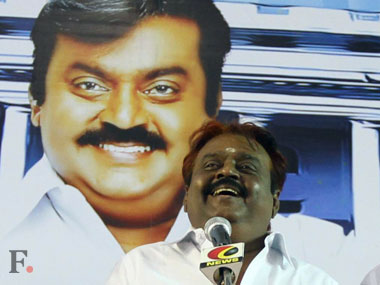PWF CM candidiate Vijayakanth. Firstpost