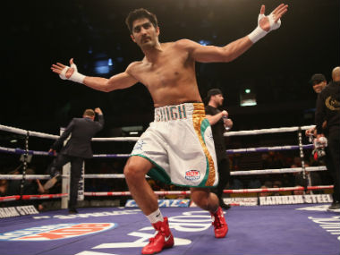 File picture of Vijender Singh. Getty