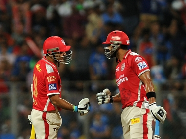 KXIP mentor Virender Sehwag backed skipper Murali Vijay and called him the right choice for captain. BCCI