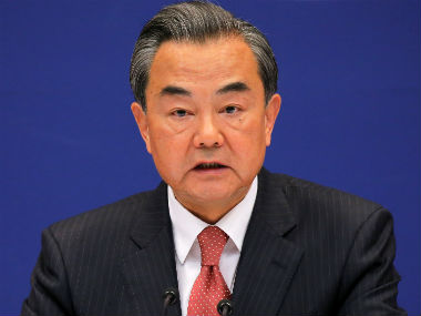 File image of Wang Yi. Reuters