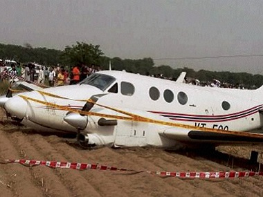 The pilot of the crashed air ambulance said he had just ten seconds to make the final decision. PTI