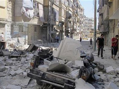 File photo of civil war-ravaged Aleppo. Reuters