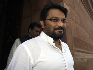 File image of BJP leader Babul Supriyo. Getty Images