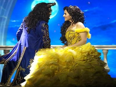 Edwin Joseph and Meher Mistry in 'Beauty and the Beast'