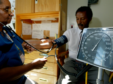 Blood pressure fluctuations may indicate pathological processes such as inflammation and impaired function in the blood vessels. Representational/Getty images