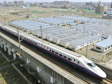 The Shinkansen, or bullet train, in Japan. Reuters file photo
