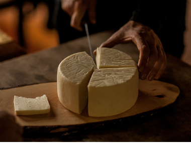 Freshly made cheese – feta, paneer etc – contains a large amount of lactose. The harder the cheese, the less lactose it contains. Getty images