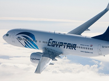 EgyptAir Flight. Courtesy EgyptAir's Facebook page