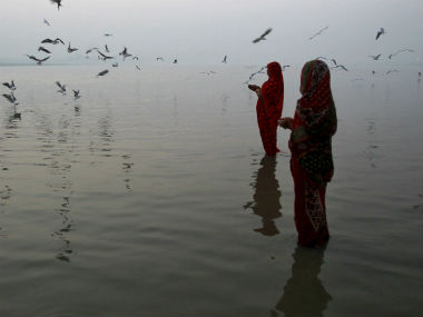 Representational image on the Ganga. Reuters