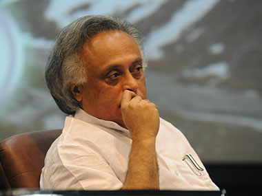 A file photo of Jairam Ramesh. AFP