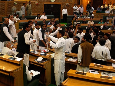 Representational image of Jammu and Kashmir Assembly. Getty Images