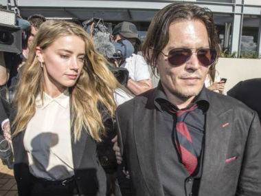 File image of Johnny Depp and Amber Heard. Reuters
