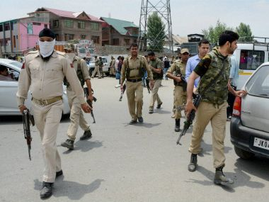 Special Operation Group of Jammu and Kashmir Police Personnel. PTI