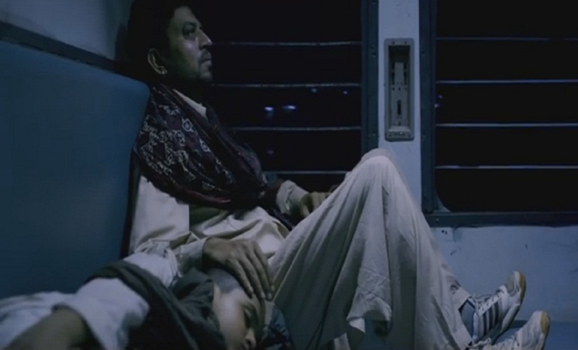 Irrfan's character will remind you of Naseeruddin Shah's in A Wednesday