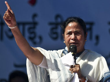 Mamata Banerjee sworn in as CM of WB for the second time. File photo. AFP