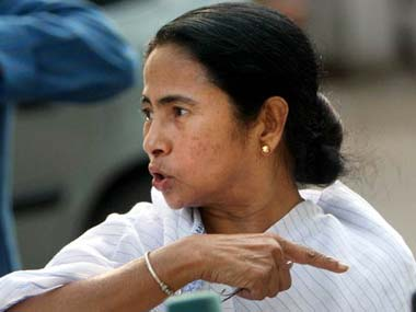 Mamata Banerjee said she will take oath on 27 May. PTI