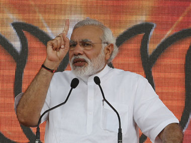 Huge task ahead for me, says PM Modi. File photo. AFP