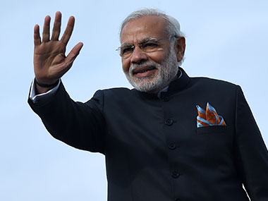 Narendra Modi. File photo. AFP.