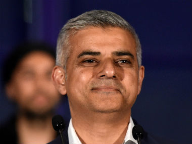 File image of Sadiq Khan. Reuters