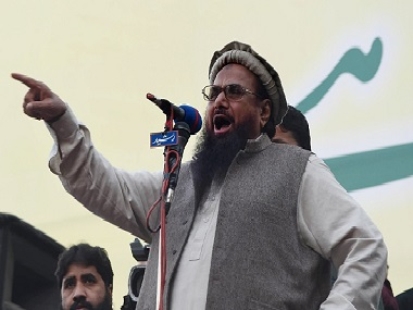 JuD chief Hafiz Saeed. AFP/Getty Images.