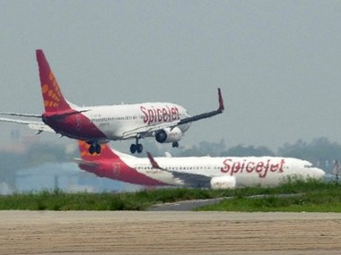 Spicejet airplanes. AFP