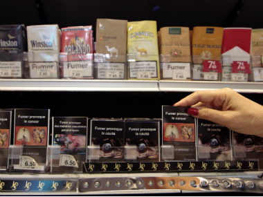 In plain packaging, the tobacco product package will have no branding or promotional information. Rather, it will sport graphic health warnings, dull colour combinations, a brand name and a product and/or manufacturer's name in standardised font. Reuters