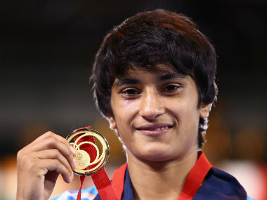 File photo of Vinesh Phogat. Getty Images