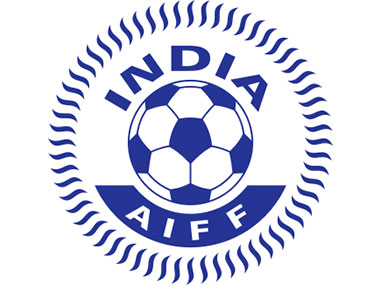 File photo of AIFF logo. Twitter: @IndianFootball
