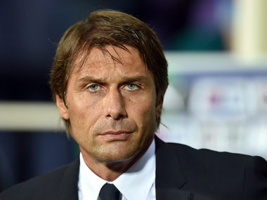 File photo of Chelsea manager  Antonio Conte. AFP
