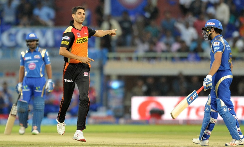 Ashish Nehra celebrates after taking a wicket. BCCI