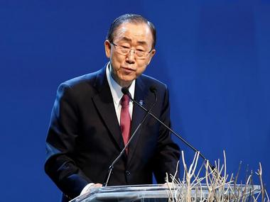 A file photo of Ban Ki Moon. Reuters
