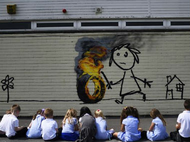 Banksy Reuters