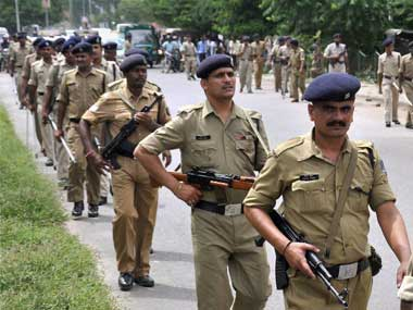 File photo of Bihar police. PTI
