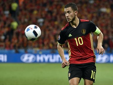 File image of Eden Hazard. AFP