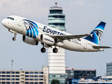 A file photo of an EgyptAir Airbus A320. AP.